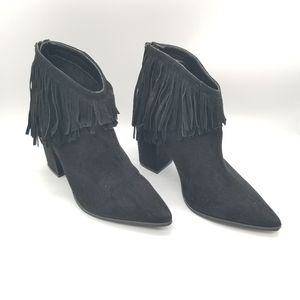Kenneth Cole reaction PullAshore Ankle Fringe Boot